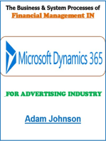 The Business & System Processes of Financial Management In Dynamics 365 For Advertising Industry