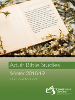 Adult Bible Studies Winter 2018-2019 Student [Large Print]