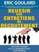 Réussir vos entretiens de recrutement