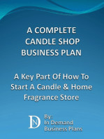 A Complete Candle Shop Business Plan