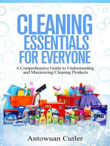 Cleaning Essentials For Everyone