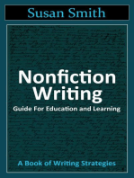 Nonfiction Writing Guide for Education and Learning