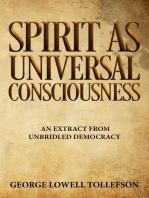 Spirit as Universal Consciousness