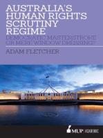 Australia's Human Rights Scrutiny Regime