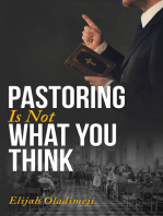 Pastoring Is Not What You Think