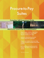 Procure-to-Pay Suites Complete Self-Assessment Guide