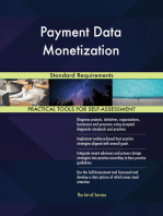 Payment Data Monetization Standard Requirements