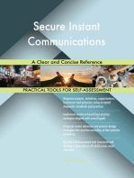 Secure Instant Communications A Clear and Concise Reference
