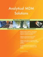 Analytical MDM Solutions Standard Requirements
