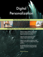 Digital Personalization Standard Requirements