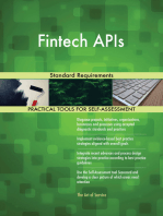 Fintech APIs Standard Requirements