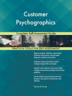 Customer Psychographics Complete Self-Assessment Guide