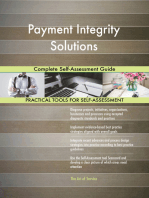Payment Integrity Solutions Complete Self-Assessment Guide