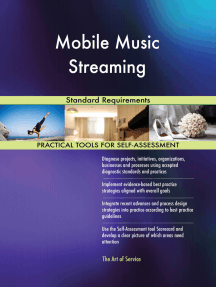 Mobile Music Streaming Standard Requirements