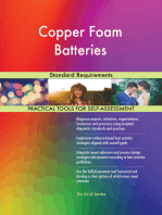Copper Foam Batteries Standard Requirements