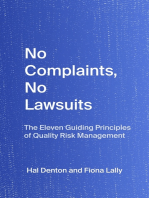 No Complaints, No Lawsuits