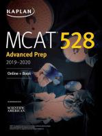 MCAT 528 Advanced Prep 2019-2020