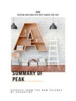 Summary of Peak