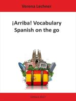 ¡Arriba! Vocabulary: Spanish on the go