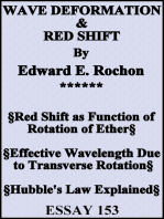 Wave Deformation & Red Shift