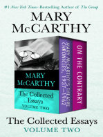 The Collected Essays Volume Two