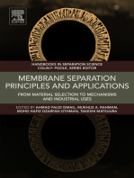 Membrane Separation Principles and Applications