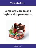 Come on! Vocabolario
