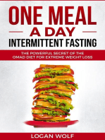 ONE MEAL A DAY Intermittent Fasting
