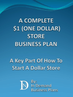 A Complete $1 (One Dollar) Store Business Plan
