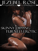 Skinny Dipping Turned Erotic