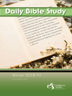 Daily Bible Study Winter 2018-2019