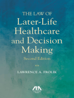 The Law of Later-Life Healthcare and Decision Making