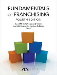 Fundamentals of Franchising: Fourth Edition