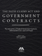 The False Claims Act and Government Contracts