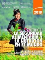 El estado de la seguridad alimentaria y la nutrición en el mundo 2018