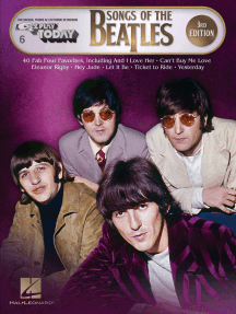 Songs of the Beatles - 3rd Edition: E-Z Play Today Volume 6