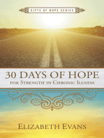 30 Days of Hope for Strength in Chronic Illness