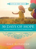 30 Days of Hope for Joy through a Child's Severe Illness