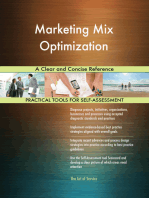 Marketing Mix Optimization A Clear and Concise Reference