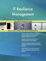 IT Resilience Management Standard Requirements