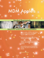 MDM Applets Standard Requirements