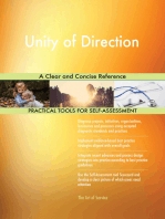 Unity of Direction A Clear and Concise Reference