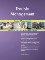 Trouble Management Standard Requirements