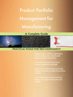 Product Portfolio Management for Manufacturing A Complete Guide