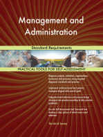 Management and Administration Standard Requirements