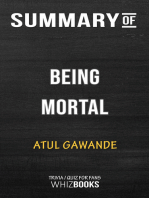 Summary of Being Mortal by Atul Gawande | Trivia/Quiz for Fans