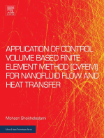 Application of Control Volume Based Finite Element Method (CVFEM) for Nanofluid Flow and Heat Transfer