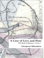 A Case of Love and Hate: The Book of Quotes Volume 1