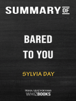 Summary of Bared to You: A Novel By Sylvia Day | Trivia/Quiz for fans