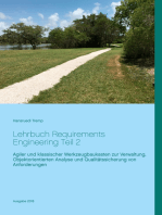 Lehrbuch Requirements Engineering Teil 2